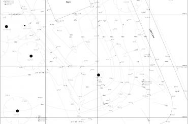 Comprehensive topographical survey plan